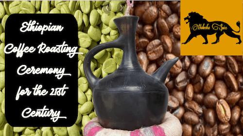 Ethiopian Coffee Roasting Ceremony ቡና ማፍላት
