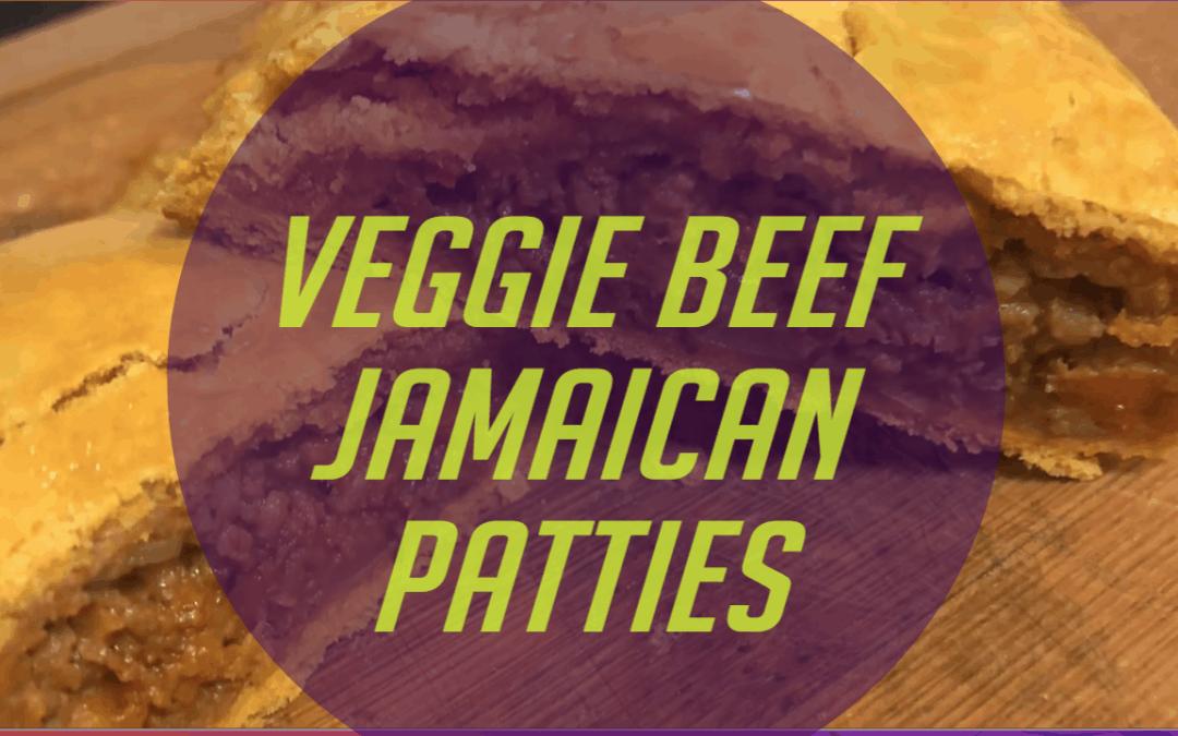 Jamaican Veggie Beef Patties
